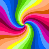 Hypnotic color swirl background. — Stock Photo