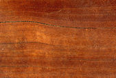 Close up of a polished wood surface — Stock Photo