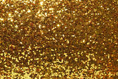 Glittering gold background — Foto Stock