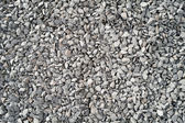 Lots of large gray stone chippings. — Stock Photo