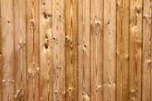 Houten planken hek close-up. — Stockfoto