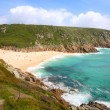 Royalty-Free Stock Photo: Porthcurno beach in Cornwall, UK.