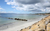 Looking at Galway Bay from Salthill. — Stock Photo
