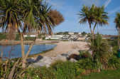 Porthcressa beach St. Mary's. — Stock Photo