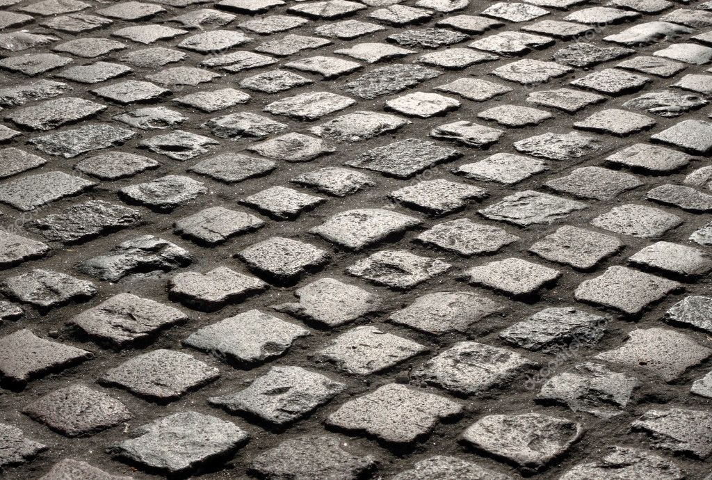 how to draw cobblestone roads