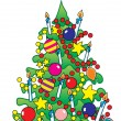 Cristmas_tree - Stock Vector