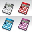 Calculators - Stock Vector