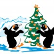 Royalty-Free Stock Vector Image: Dancing penguin
