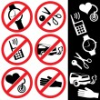Royalty-Free Stock Vector Image: Icons_safety