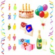 Birthday — Image vectorielle