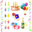 Stock Vector: Birthday