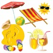 Beach — Stock Vector #1278882