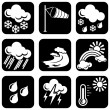 Icons_meteo - Stock Vector