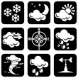 Royalty-Free Stock Vector Image: Icons_meteo