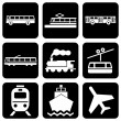 Stock Vector: Only Transport