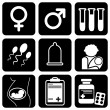 Royalty-Free Stock Vector Image: Icons_medical
