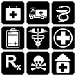 Icons_medical — Stock Vector #1355760