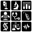 Stock Vector: Icons_medical