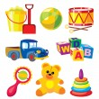 Royalty-Free Stock Vectorielle: Toys