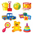 Toys - Stock Vector