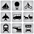 Royalty-Free Stock Vector Image: Transport_icons