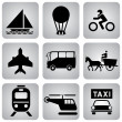 Transport_icons — Stock Vector