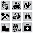 Постер, плакат: Leasure_icons
