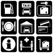 Services icons — Stock Vector