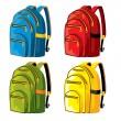 Sports backpacks — Stock Vector