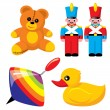 Children's toys — Stock Vector #2069768