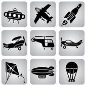 Air transport — Stock Vector