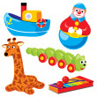 Children's toys — Stock Vector #2195134