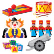 Royalty-Free Stock Vector Image: Toys