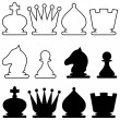 Chess — Stock Vector
