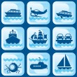 Royalty-Free Stock Vector Image: Icons bost