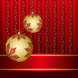 Royalty-Free Stock ベクターイメージ: Christmas background