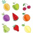 Fruits icon — Stock Vector