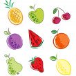 Royalty-Free Stock Vector Image: Fruits icon