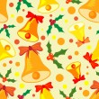 Royalty-Free Stock Imagem Vetorial: Pattern of christmas bell