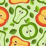 seamless pattern di frutta — Vettoriale Stock
