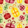 Royalty-Free Stock Vectorielle: Seamless pattern with gift box