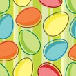 Seamless pattern of easter egg - Stock Vector
