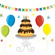 Party vector illustration -  