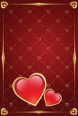 Valentine's day background — Vector de stock