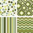 Retro seamless pattern - Imagen vectorial