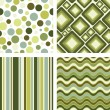 Vettoriale Stock : Retro seamless pattern
