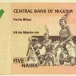 5 naira — Stock Photo