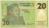 20 naira — Stock Photo