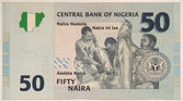 50 naira — Stock Photo