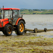 Stock Photo: Shellfish farm harvesting